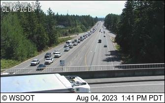 WSDOT - SR 16 at MP 10 7: Olympic Drive - Tacoma Washington Cameras