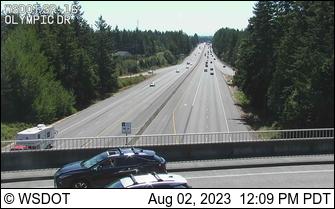 SR 16 at MP 10.7: Olympic Drive