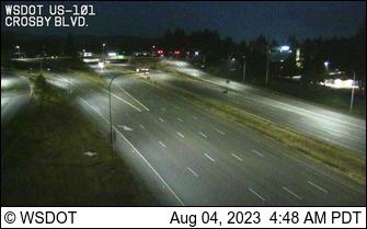 US 101 at Crosby Blvd @ MP 366.6