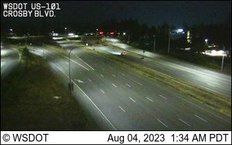US 101 at MP 366.6: Crosby Blvd