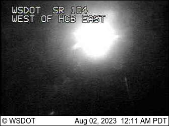 SR 104: West of Hood Canal Bridge VMS East
