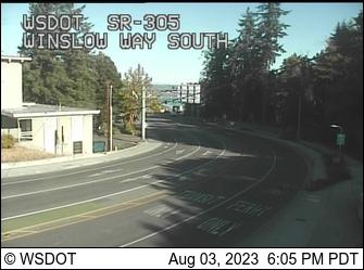 SR 305 at MP 0.2: Winslow Way South