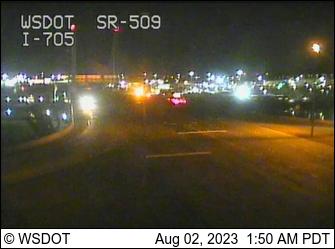 SR 509 at MP 0: I-705 Interchange