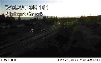 Siebert on US 101 @ MP 256