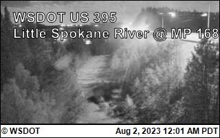US 395 at MP 168: Little Spokane River (4)
