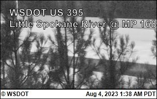 US 395 at MP 168: Little Spokane River (6)