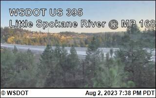 US 395 at MP 168: Little Spokane River (8)