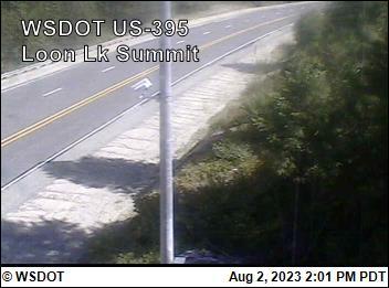US 395 at MP 188.1: Loon Lake Summit (1)