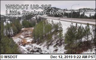 Little Spokane River on US 395 @ MP 168