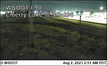 I-90 at MP 296: Liberty Lake (1)