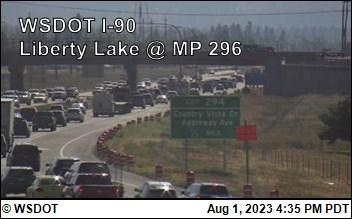 I-90 at MP 296: Liberty Lake (2)