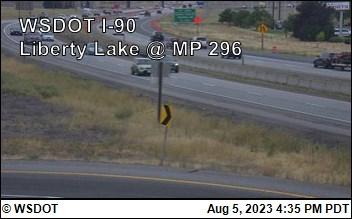 I-90 at MP 296: Liberty Lake (3)