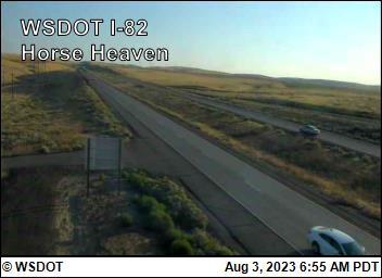 I-82 at MP 121.2: Horse Heaven