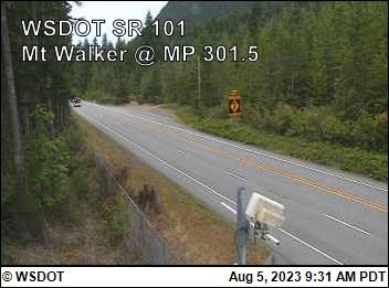 Mt Walker, SR-101@ 301.5