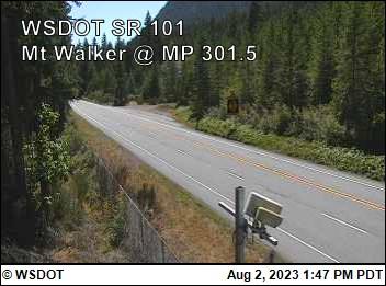 US 101 at MP 301.5: Mt Walker