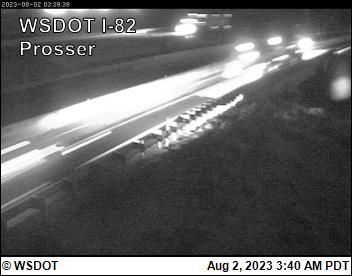 I-82 at MP 81.7: Prosser