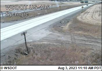 US 195 at MP 81.6: Spangle (2)