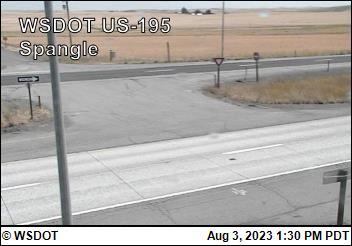 US 195 at MP 81.6: Spangle (4)