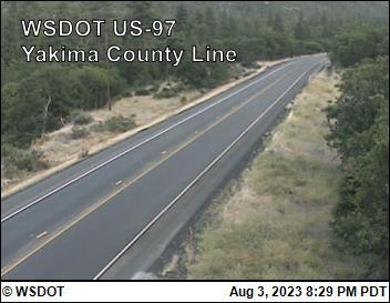 US 97 at MP 34.5: Yakima County Line