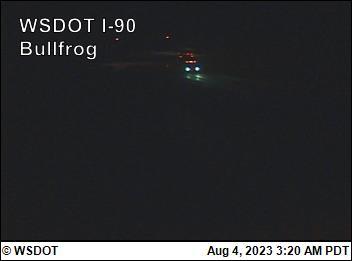 Bullfrog-facing west on I-90 @ MP 79.54