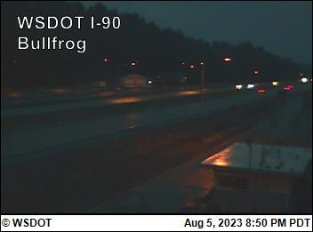I-90 at MP 79.5: Bullfrog-facing east