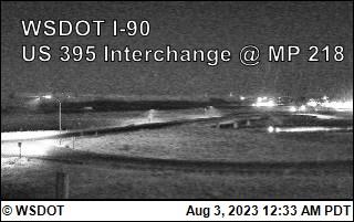I-90 at MP 220: US 395 Interchange @ Ritzville (1)