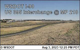 I-90 at MP 220: US 395 Interchange @ Ritzville (3)