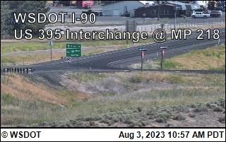 I-90 at MP 220: US 395 Interchange @ Ritzville (7)