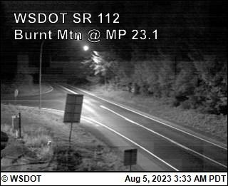 SR 112 at MP 23.1: Burnt Mt