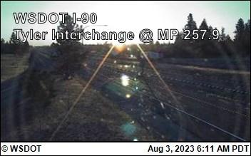 Tyler Interchange on I-90 @ MP 257