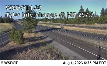 I-90 at MP 257.9: Tyler Interchange (1)