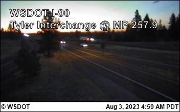 I-90 at MP 257: Tyler Interchange on (1)