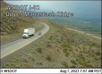 Manastash Ridge Summit on I-82 @ MP 7