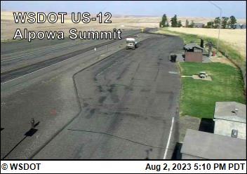 Alpowa Summit on US-12 @ MP 413