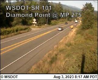 Diamond Point on US 101 @ MP 275