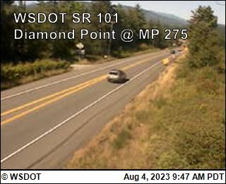US 101 at MP 274.6: Diamond Point