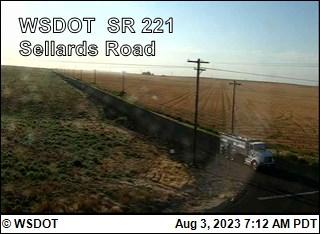 SR 221 at MP 13.4: Sellards Road