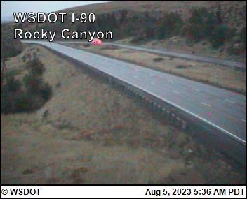 I-90 at MP 96.2: Rocky Canyon