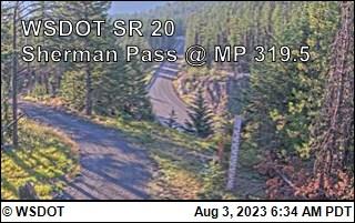Sherman Pass on SR-20 @ MP 320