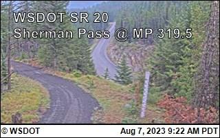 SR 20 at MP 319.5: Sherman Pass