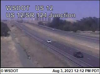 US 12 at MP 295: SR 124 Interchange