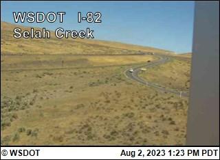 Selah Creek Rest Area on I-82 @ MP22.4