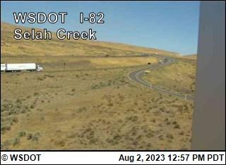 I-82 at MP 22.4: Selah Creek Rest Area