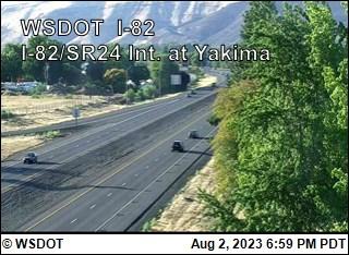 I-82 at MP 34.7: SR 24 Interchange @ Yakima