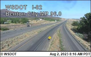 Benton City on I-82 @ MP 96