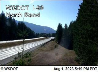 North Bend on I-90 @ MP33