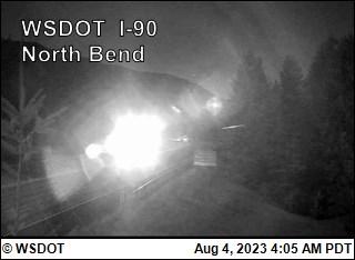 WSDOT - I-90 at MP 33 2: North Bend - Central Washington Cameras