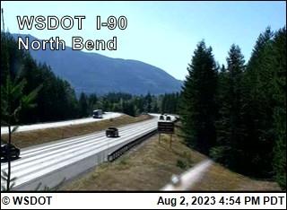 I-90 at MP 33.2: North Bend