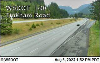 I-90 at MP 45.2: Tinkham Road