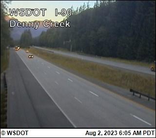 Denny Creek on I-90 @ MP46.8